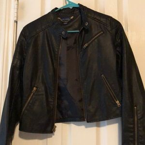 RALPH LAUREN POLO leather jacket size XL IN KIDS